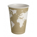 Biodegradable Compostable 32 oz World Art Paper Soup Bowls (500/case) ON SALE!!!