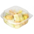 6x6x3 Biodegradable Compostable Plastic Corn Clamshell ON SALE!!!! (240/case)