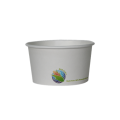 08 oz PLA Lined Compostable Soup Bowls (1000/case)