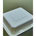 Biodegradable Compostable 9x9x3 Sugarcane Clamshell (200/case)