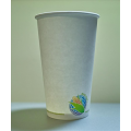 16 oz Biodegradable Compostable Paper Coffee Cups (1000/case)