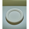 06'' Biodegradable Compostable Bagasse Sugar Cane Plates (1000/case)