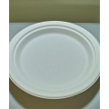 09'' Biodegradable Compostable Bagasse Sugar Cane Plates (500/case)